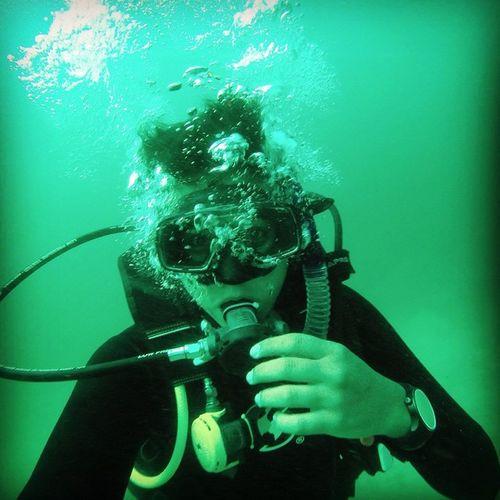 60 feet underwater Scubadiving in the Marietas islands Gopro SCUBA Awesome Lml SpringBreak Scubalife Diving Openwater Mexico Vallartaadventures Vallarta Ocean