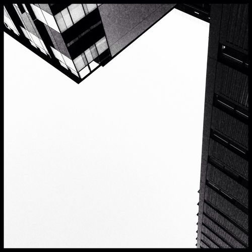 EyeEm Brisbane Valley Meetup Urban Geometry Blackandwhite Look Up And Thrive Geometric Shapes Negative Space Smart Simplicity