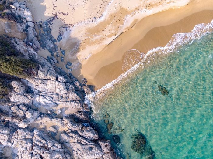 EyEmNewHere DJI Mavic Air Capture Tomorrow Dronephotography Dji Drone  Aerial View Water Land Sea Beach Beauty In Nature High Angle View Nature Sand Day Scenics - Nature Sport Tranquility Animal Sunlight Tranquil Scene Outdoors