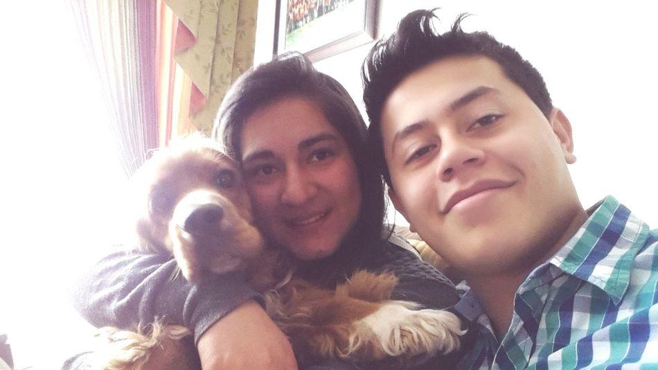Buenos Momentos Amor ♥ Selfie ✌ 😊😀😊😀 Dog❤
