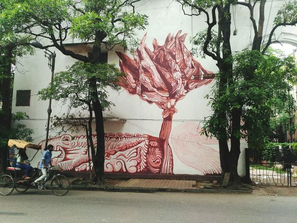 Outdoors Imagimation... Wallart Wallpainting Lodhiartdistrict Lodhicolony Riksha Wall Art Graffiti Art Graffiti Graffiti & Streetart Graffiti Wall Grafitti Lodhicolony Delhi Graffiti Photography Graffiti Is Art Graffity Art Wall Painting The Week On EyeEm