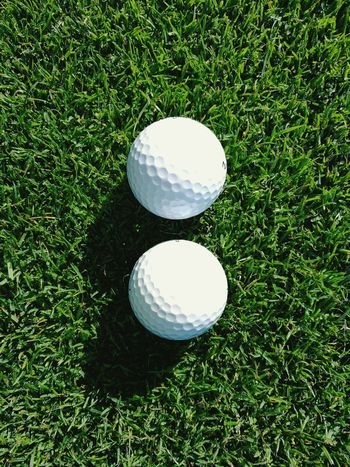 Two Is Better Than One Golfball Two Is Better Than One.