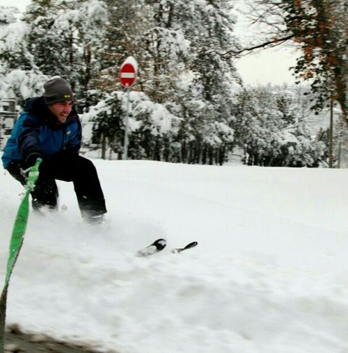 Deepfreeze Snow Snowing Skiing Street_skiing Extreme Extreme Sports Friend Canon