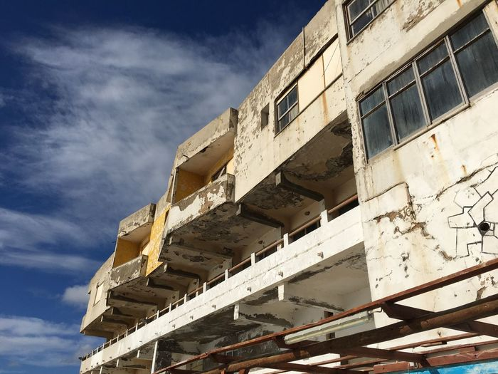 Built Structure Building Exterior Architecture Low Angle View Sky Sunlight No People Outdoors Day