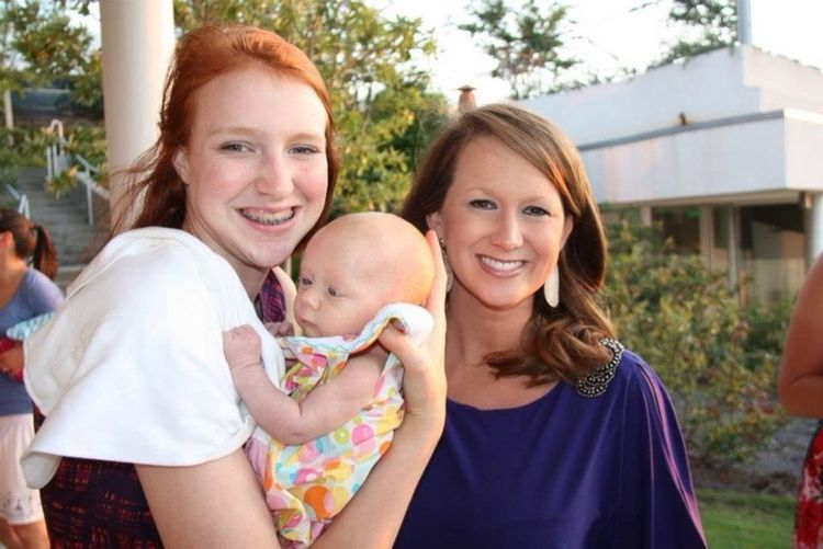 Three Redheads In The Family