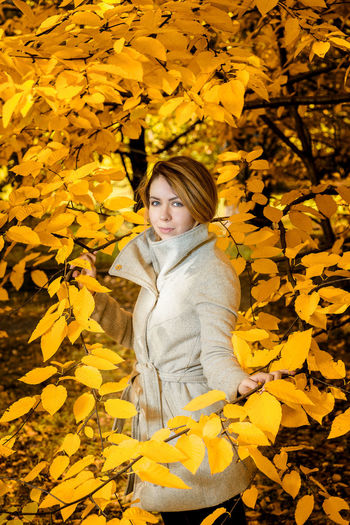 Photoshoot in a Moscow park in Russia with the beautiful fall colors complemented by a beautiful model. Enjoying Nature Fall Beauty Fall Colors Autumn Beautiful Woman Beauty In Nature Coat Enjoying Life Fall Fall Leaves Fall_collection Fashon Jacket Leaf Looking At Camera Model One Woman Only One Young Woman Only Outdoors Overcoat Park Portrait Russian Girl Yellow
