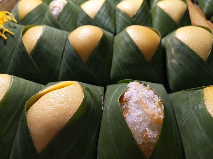 Full frame shot of thai dessert.