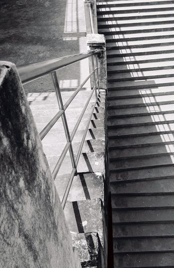 Stairs & Shadows Stairs Platform Platform Stairs To Khong River Light And Shadow Shadows & Lights Khong River Street Style From Around The World