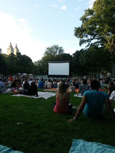 Urban Escape watching a movie the best way ever... Check This Out Movietime  Hugging A Tree