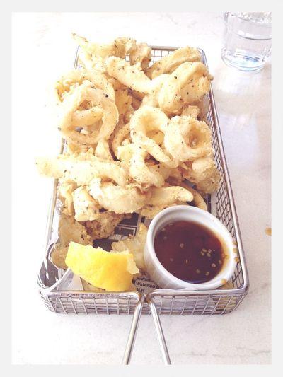 Squid Life. Yummo Good Food