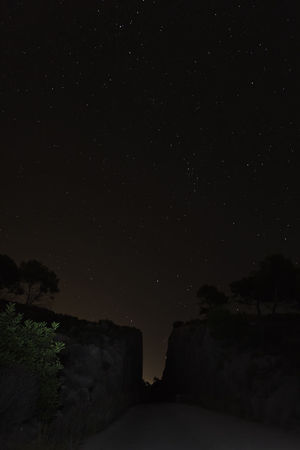 Astrophotography Beauty In Nature Clear Sky Dark Galaxy Nature Night No People Outdoors Scenics Silouette & Sky Sky Star - Space Star Field Starry Sky Summer Night Under The Milky Way Overnight Success The Countryside At Night