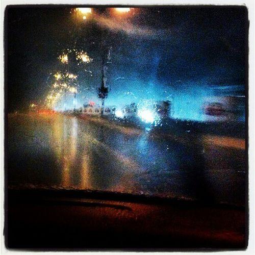 Raining in NCR Rain Delhi India Winterrain thunderstorm