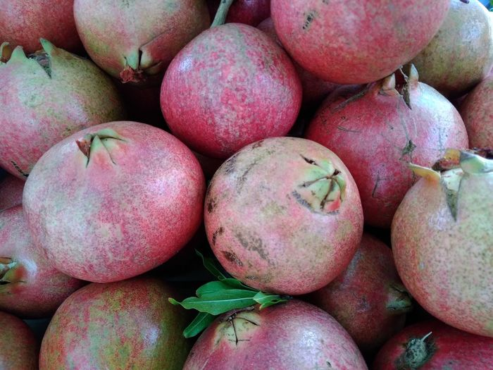Pomegranates Healthy Eating Fruit Food And Drink Food Market Freshness No People Close-up Peach Healthy Lifestyle Retail  Red Day Sweet Food Outdoors Supermarket Pomegranate Historical Market in Catania Sicily The Week On EyeEm Exceptional Photographs Eye Em Nature Lover EyeEmBestPics