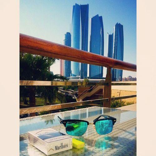 Sun is shining.. The rhythm is sweet ?? Abudhabi UAE Etihad_towers InterContinental Coffee simplythebest simplyabudhabi instaabudhabi united_arab_emirates uae myabudhabi love inabudhabi ♡