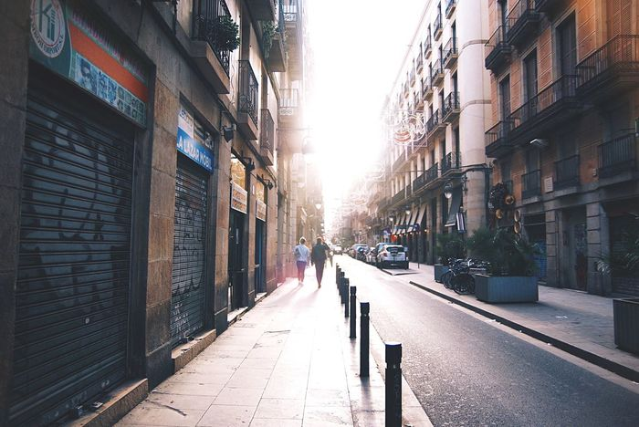 A memory of the old town//. City Barcelona Love Cityscapes Streetphotography Street Photography Street Sunset Sunshine Walking Adventure Urban Lifestyle Life Lifestyles Traveling Old Buildings Old People Urban Walking Around Embrace Urban Life People And Places Enjoy The New Normal Evening The City Light