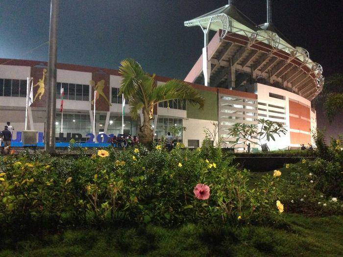 Kerala India Trivandrum First Eyeem Photo night view of Green Field Stadium Taken In Iphone First Eyeem Photo