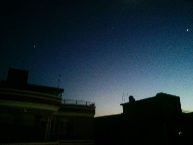 From The Rooftop Pakistan Night Sky Nice Day Recentforrecent Smart Simplicity Deepfreeze Picture