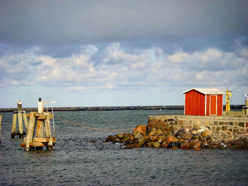 Cloud - Sky Hafeneinfahrt Harbour Entrance Horizon Over Water No People Port Entrance Sea Sky Water