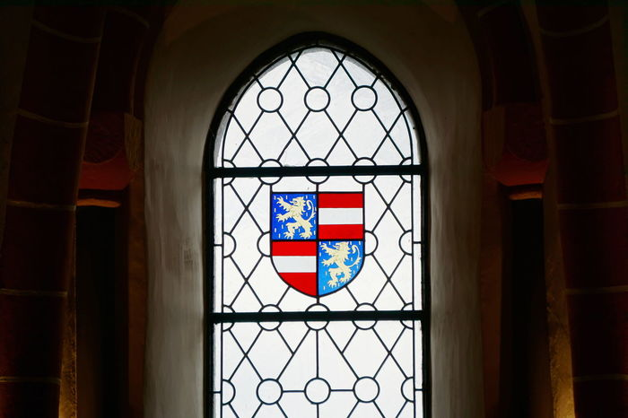 Luxembourg flag Castle Light Through The Window Luxembourg Travel Photography Arch Architecture Belief Building Built Structure Day Europe Glass Glass - Material Indoors  Multi Colored No People Place Of Worship Religion Shape Spirituality Spring Stained Glass Travel Destinations Vianden Window