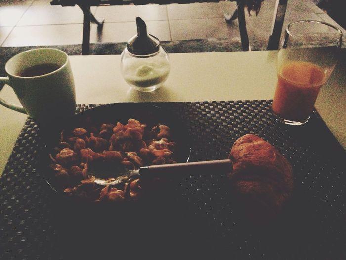 petit dejeuner Relaxing