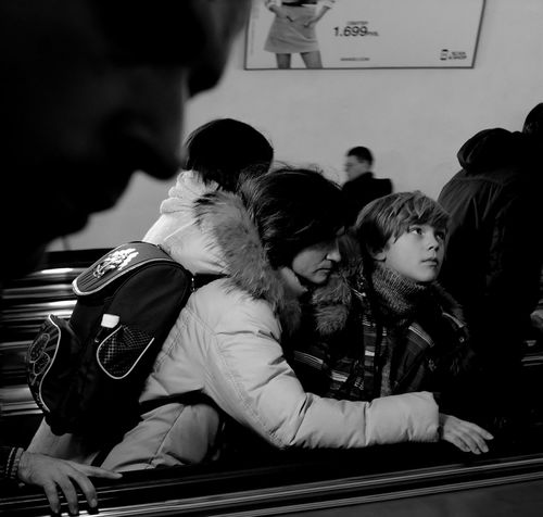 ABOUT STRANGE SUBWAY'S BEAUTY. Subway Bw_collection Black And White Blackandwhite Bw Blackandwhite Photography Black & White Eye4black&white  The Human Condition Eye4photography