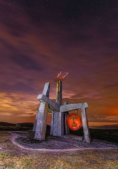 Thor Stone Night Nightphotography Sky Star - Space Night Nature Architecture No People Cloud - Sky Landscape Long Exposure Outdoors The Great Outdoors - 2019 EyeEm Awards The Great Outdoors - 2019 EyeEm Awards