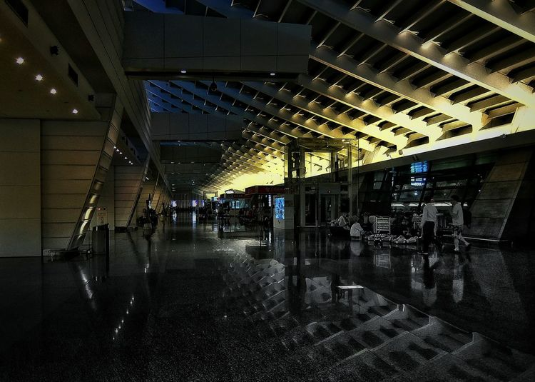 Cities At Night Midnight Airport Transportation Darkness In The LightLight And Shadow Darkness And Light Reflection Night Night Lights Nightphotography People Tourist Urban Landscape Urbanphotography Landscapes Eye4photography  On The Way TakeoverContrast Overnight Success 2016.04.25.am2:00 at 桃園國際機場 Taoyuan International Airport in Taoyuan Taiwan