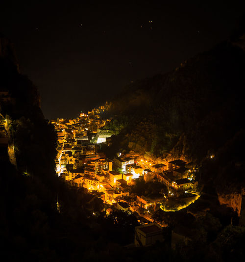 View over Amalfi at night Amalfi  City City Lights City View  Cityscape Cityscapes Glowing Goodnight Italia Italy Italy❤️ Majestic Night Night Lights Night Photography Night View Amalfi Coast Nightlights Nightphotography Nightshot Seeing The Sights Showcase: November Travel Traveling Travelling