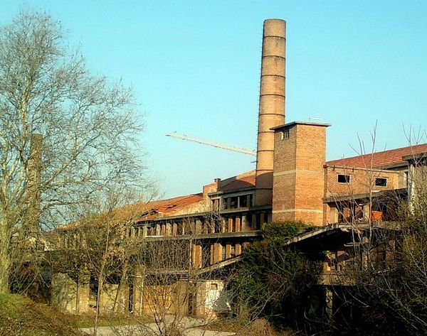 Industrial archaeology Archeologia Industriale Architecture Argilla  Building Building Exterior Built Structure Chimney Ciminiera Clear Sky Communications Tower Construction Deterioration Exterior Industrial Archaeology Industrial Heritage Italy Mantova Mantua Old Outdoors Ruined Sky Smokestack Tower
