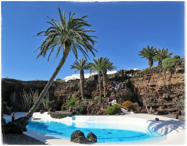 Jameosdelagua Lanzarote Latergram Manrique Cesarmanrique Poolside