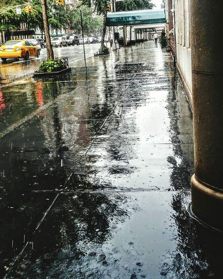 Rainy day in NYC. Rain Rainy Days RainDrop Rain Drops Raining Nyc Rain