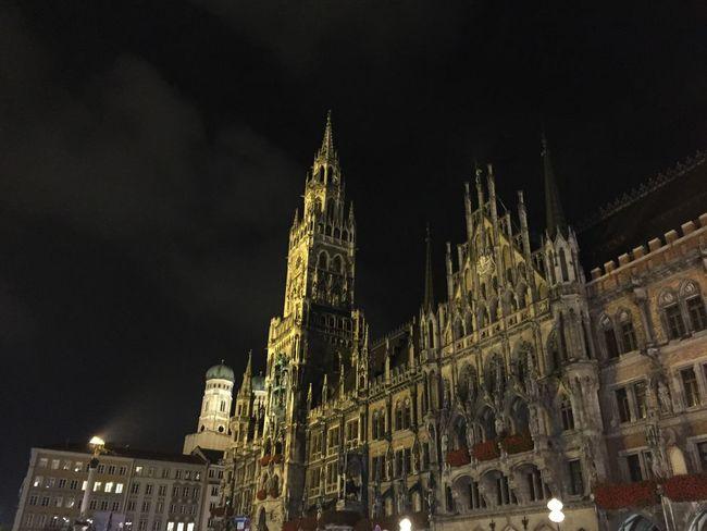 Munich Historical Building Altstadt Rathaus
