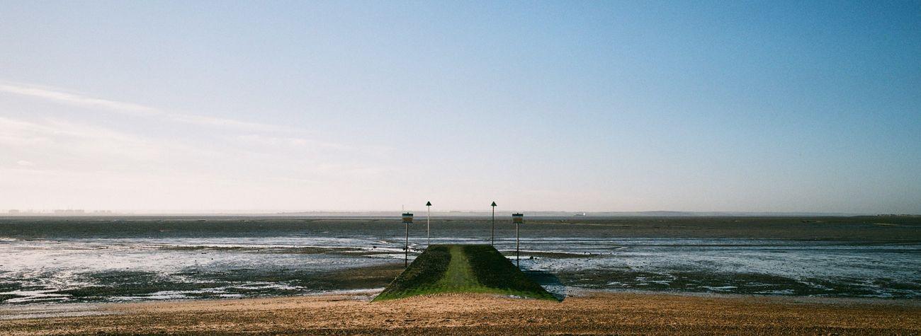 Thames Estuary / Hasselblad XPan, Fujicolor 200 Film
