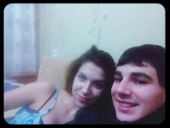 Enjoying Life boyfriend fun smile together home evening ill make up