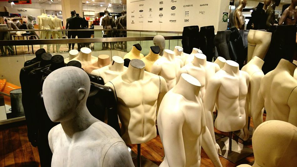 Dummies or Mannequins For Sale at the former Department Store of V&D Vroom & Dreesmann that was declared Bankrupt earlier in 2016. During a short period the Stores reopened to sell all inventory and furniture at Rockbottom Prices. I found the Staff extremely Brave for helping, even though they Lost their Jobs Utrecht Netherlands (c) 2016 Shangita Bose All Rights Reserved Telling Stories Differently The Photojournalist - 2016 EyeEm Awards 43 Golden Moments Live Love Shop