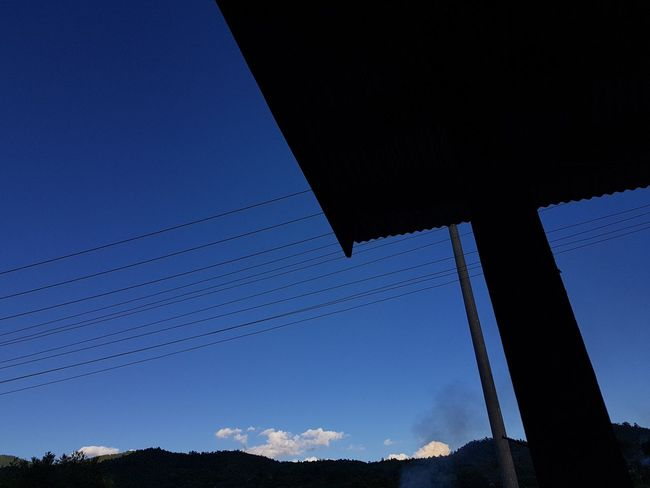No People Blue Nature Sky Outdoors Day Industry Beauty In Nature Clear Sky Power In Nature