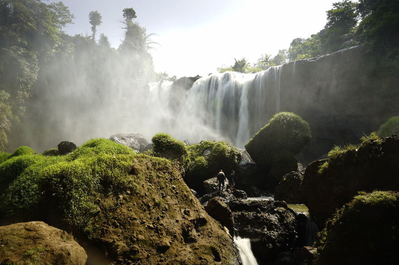 Dadali Waterfal Cianjur Indonesia