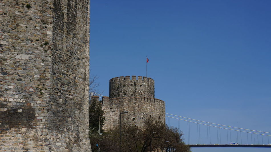 Ancient Ancient Civilization Architecture Building Exterior Built Structure Castle City Famous Place Flag Hisar Historic History Istanbul Old Ruin Outdoors Ruined Rumeli Hisarı Rumelihisari The Past Tower Town