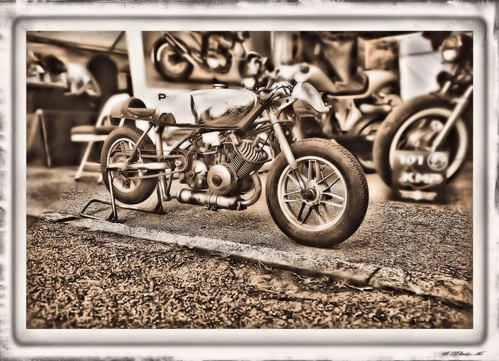 Glemseck101 2015 Open Air Motorcycle Exhibition Glermseck101 Motorcycle Technik  Blackandwhite Cafe-racer Motorrad Schwarzweiß Sepia Technic