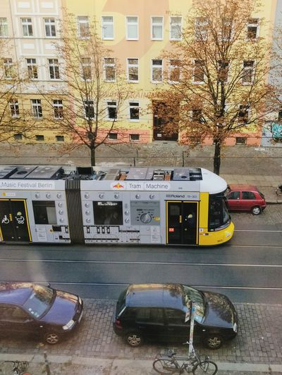 Tram Machines City Building Exterior Built Structure