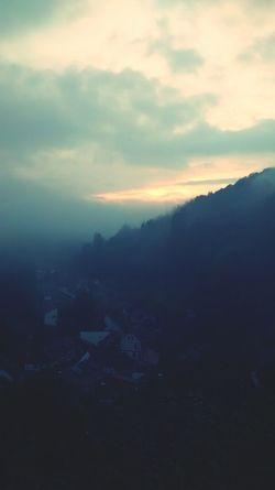 Sunset Stolberg Harz Sunset