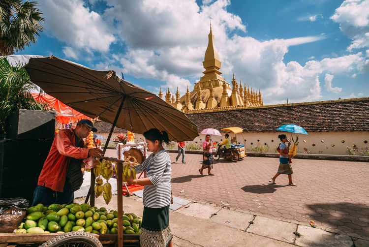 Showcase: January Pha That Luang - Vientiane, Laos Good Times Journey Street Photography