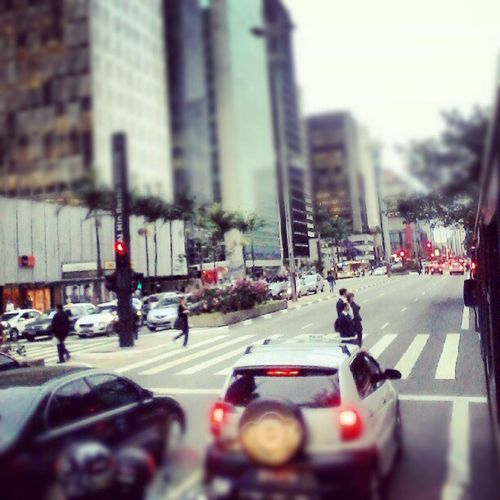Como odiar Sao Paulo. Av. Paulista...