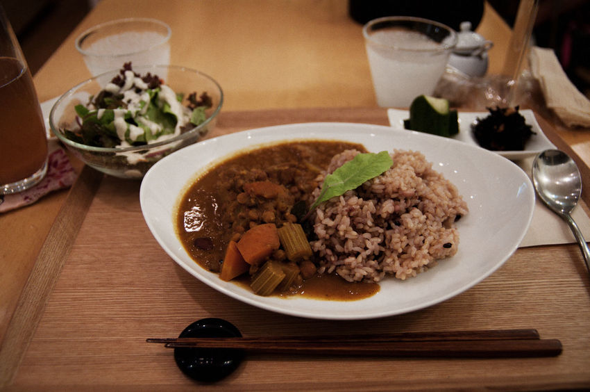 Ambient Bowl Curry Delicious Dinner Food Food And Drink Indoors  Japanese Curry Japanese Food Meal No People Plate Ready-to-eat Rice Tokyo Yummy