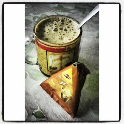 Good Morning with this! Thanks for the creation Lipton! Lipton Chailatte Foamy Almond milktea