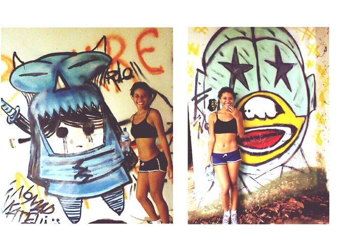Good Morning! Workout Graffiti Art Old Graff