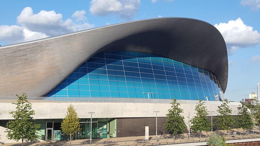 Olympic Park  Olympic Aquatic Centre London