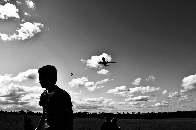 AirPlane ✈ Eyemaireplane People Photography Sky And Clouds