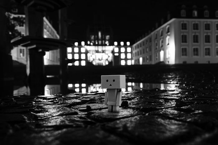 Castle Creative Light And Shadow EyeEm Best Shots EyeEm Gallery EyeEmBestPics EyeEmNewHere Low Angle View Nightphotography Reflection Architecture Art Blackandwhite Building Exterior Built Structure Darkness And Light Eye4photography  Germany Long Exposure Night No People Outdoors Shootwithcamerasnotwithguns Streetphotography Toy Water