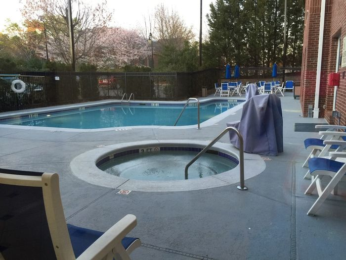 Summer Leisure Activity Swimming Pool Tree Water Skateboard Park Day Outdoors No People Summer Exploratorium
